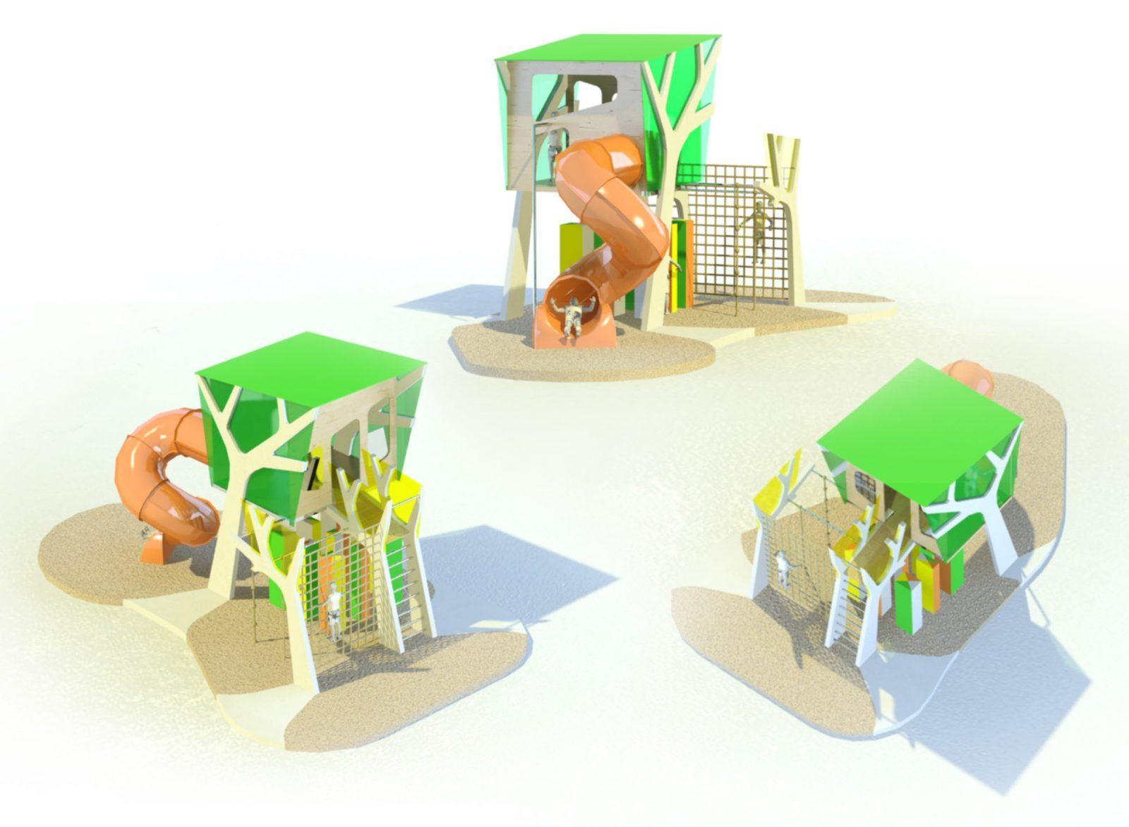 Casa Árbol, de Minimala Playground