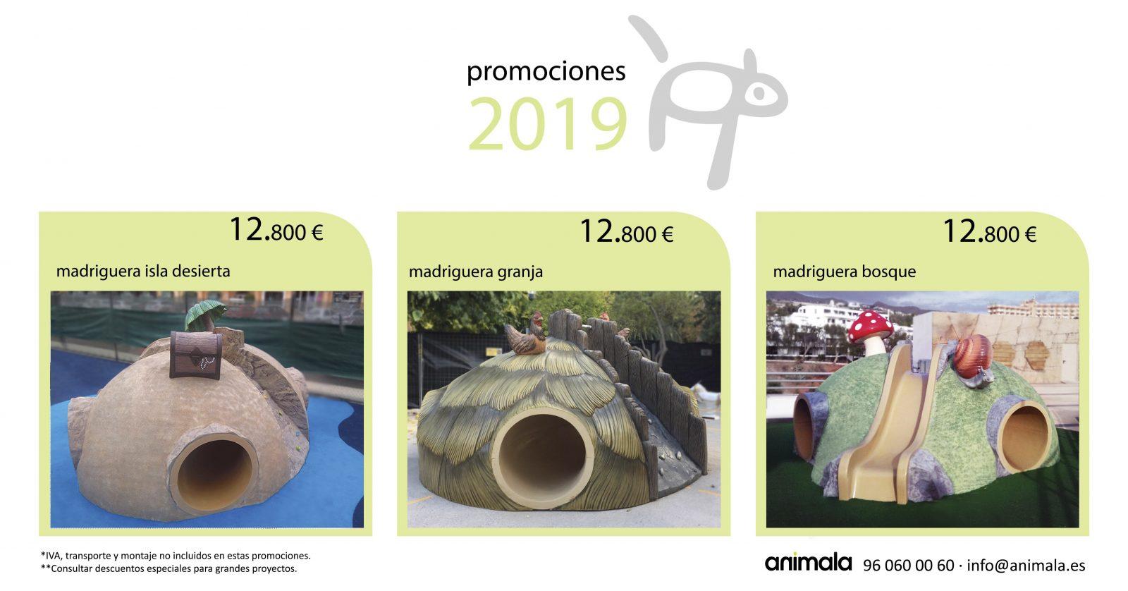 promociones madrigueras temáticas