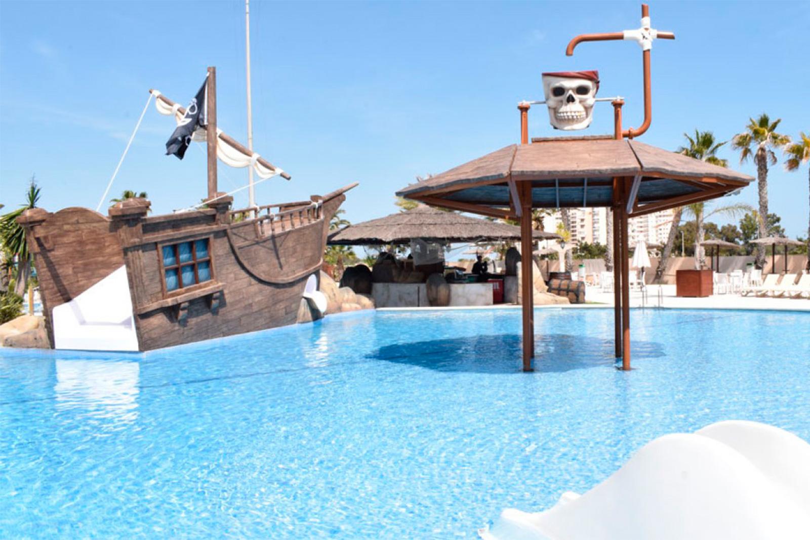 Tematización parque acuático Camping Marjal Guardamar