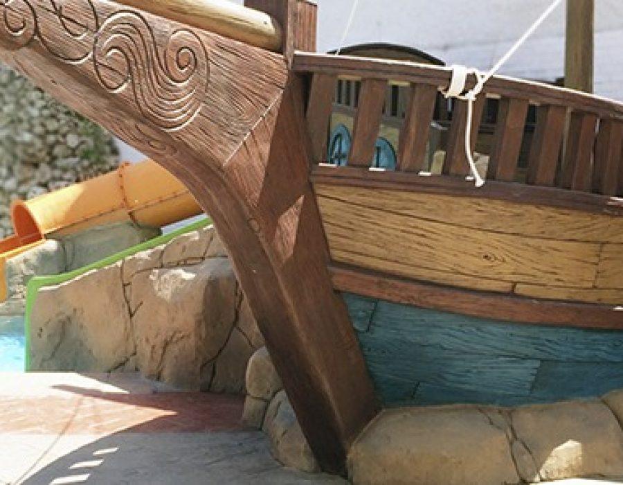 Tematización parque infantil Hotel Oasis Park